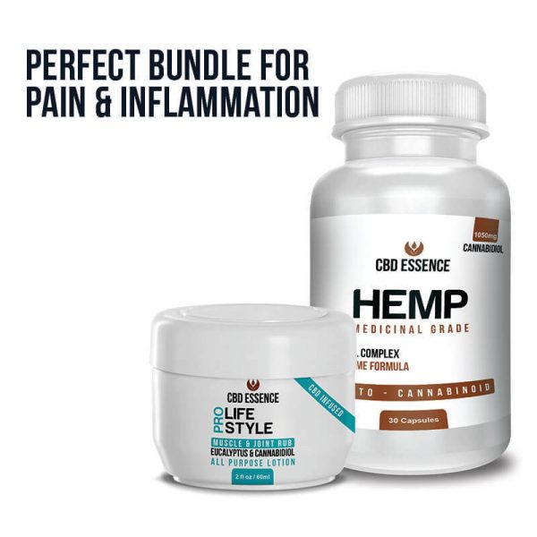 CBD Bundle - Topical and Hemp Capsules