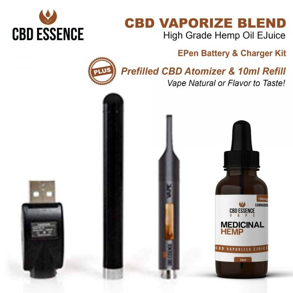 CBD Oil Vape Pen Starter Kit By CBD Essence