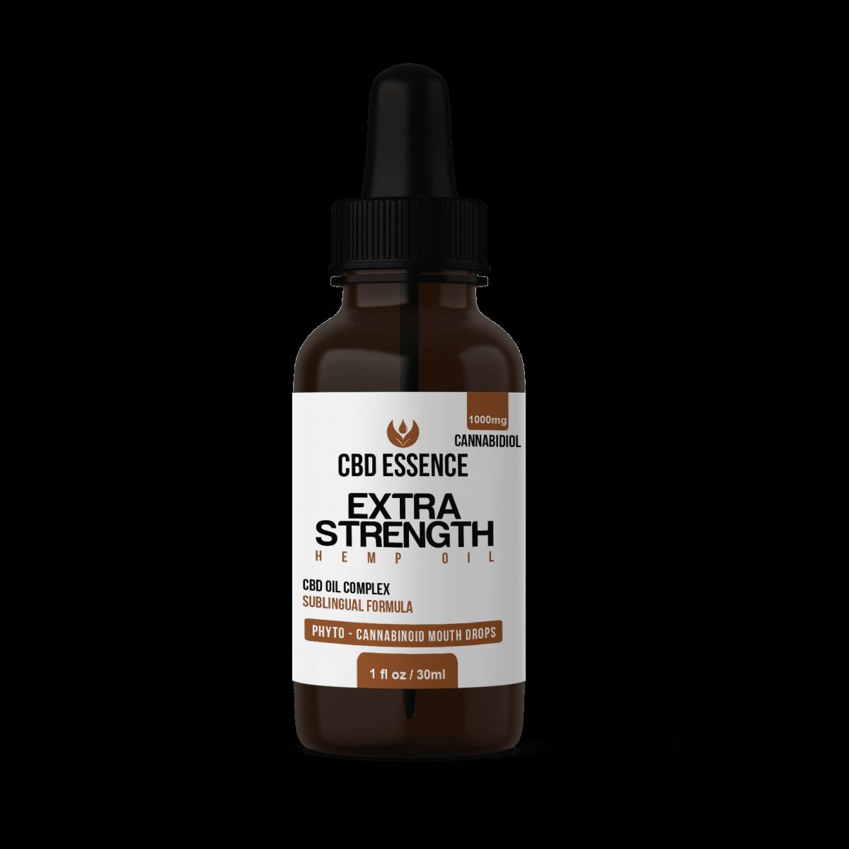 Extra Strength CBD Oil by CBD Essence