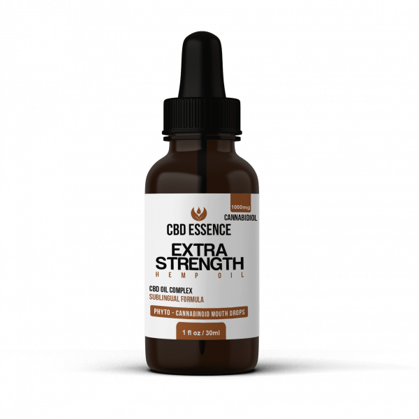 Extra Strength CBD Oil by CBD Essence