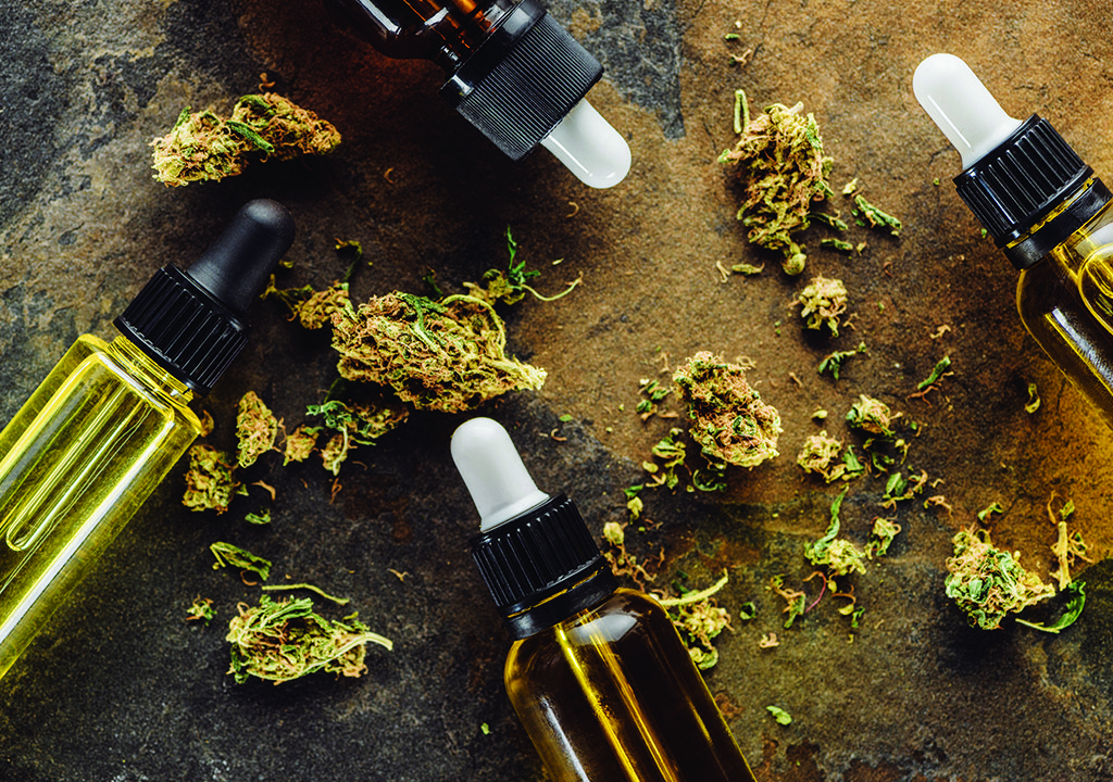 CBD Oil Tincture and Buds - CBD Essence