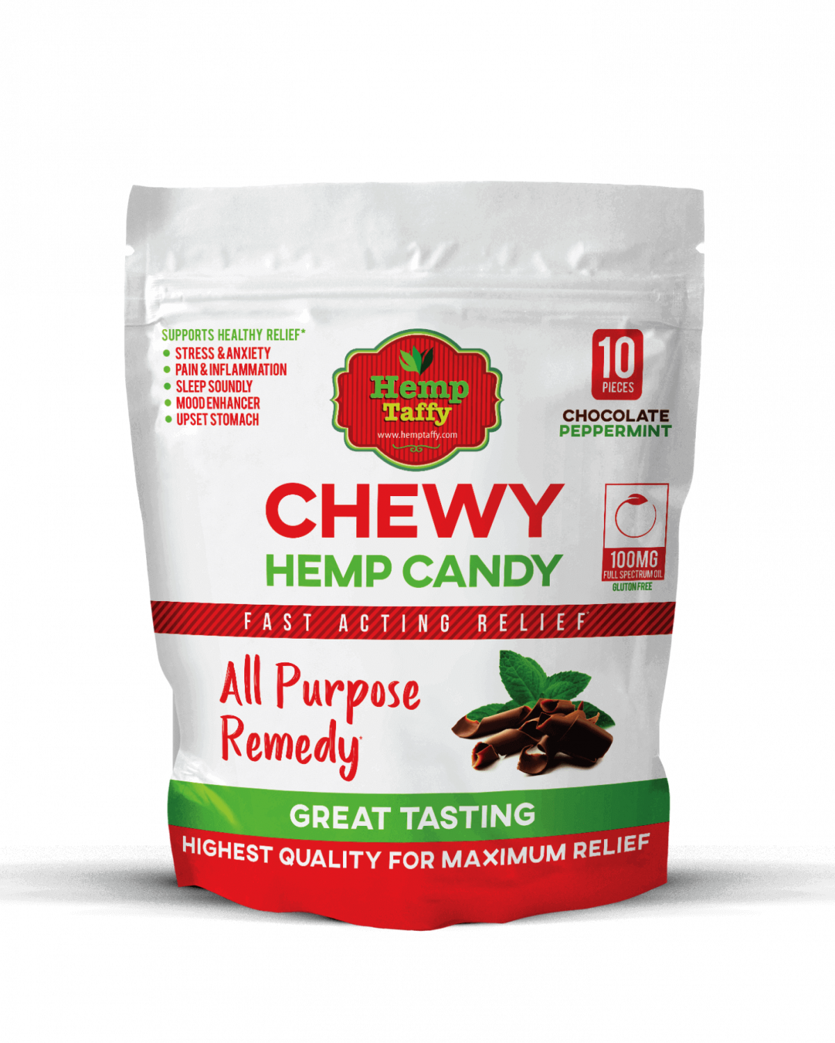 CBD Chocolate Taffy Chews