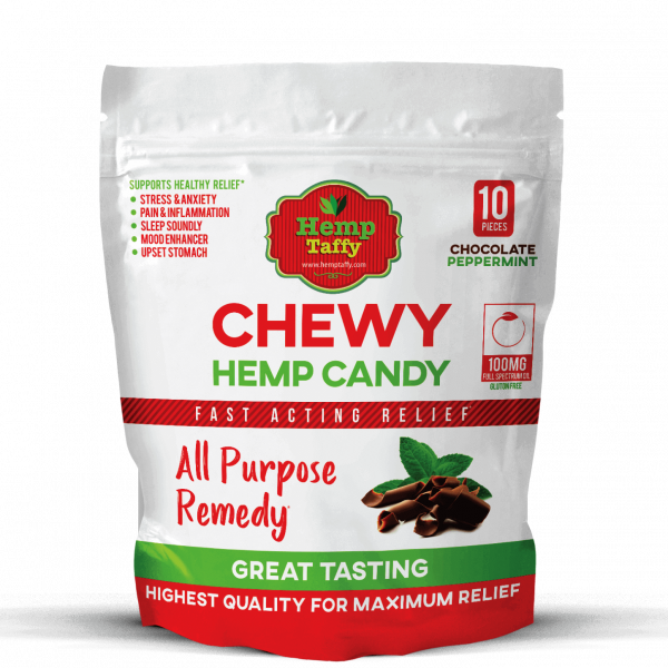 CBD Chocolate Taffy Chews