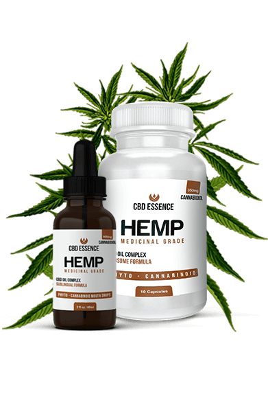 Hemp tincture and CBD Capsules
