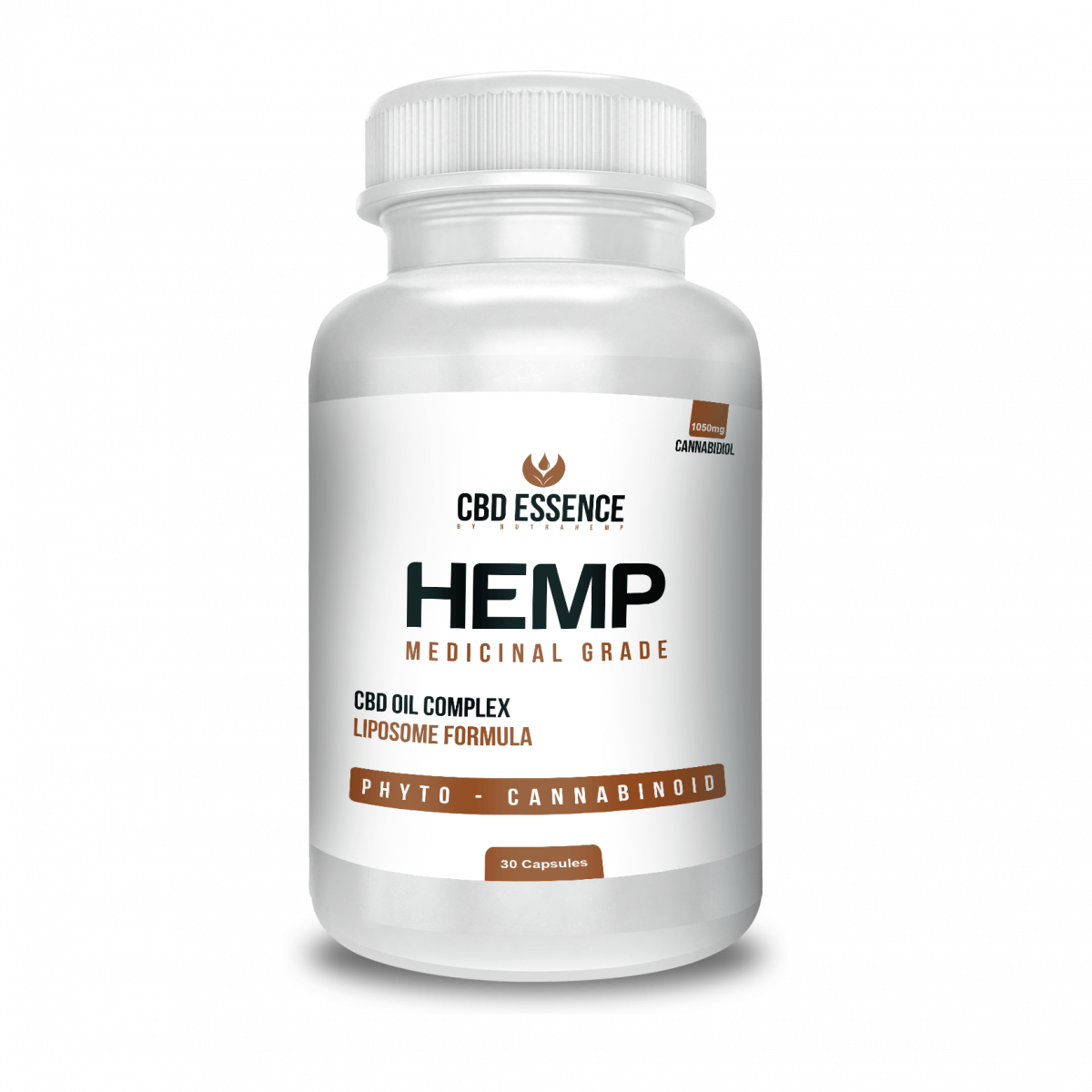 CBD Hemp Oil Capsules - CBD Essence