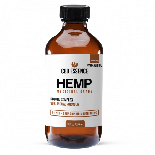 Full Spectrum CBD Oil 8 oz Hemp Tincture by CBD Essence