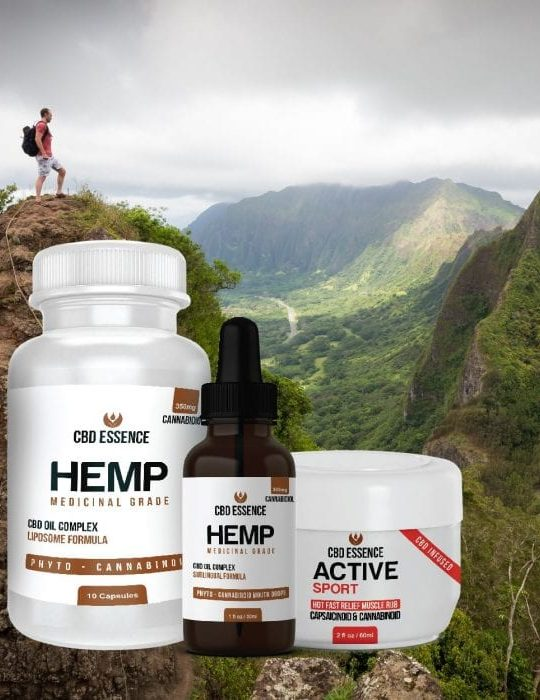 CBD Essence products Main Climbing Hill